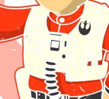 Fighter Pilot Boy Sticker