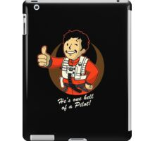 Fighter Pilot Boy iPad Case/Skin