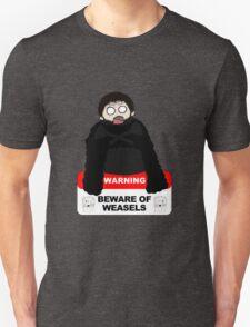 Beware of weasels, Samwell T-Shirt