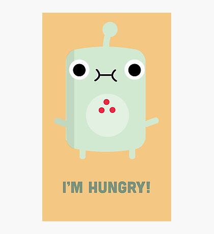 Little Monster - I'm Hungry! Photographic Print