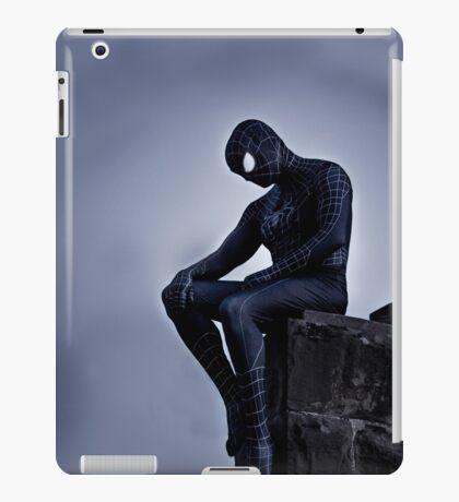 Black Spider-Man iPad Case/Skin