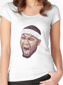BOOGIE Women's Fitted Scoop T-Shirt