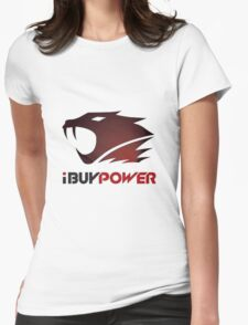 I Buy Power Womens Fitted T-Shirt