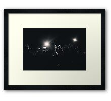 6th Street Bridge Drama Framed Print