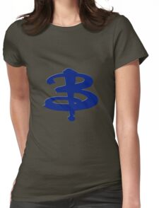 Buffy The Vampire Slayer 'B' v4.0 Womens Fitted T-Shirt