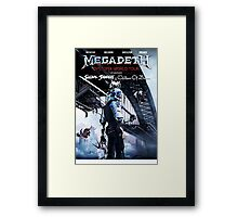 Dystopia World Tour Framed Print
