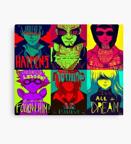 Cowboy bebop poster Canvas Print