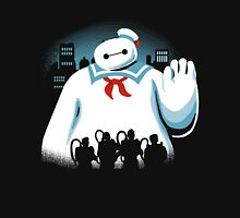 Baypuft Baymax vs The Ghostbusters Unisex T-Shirt