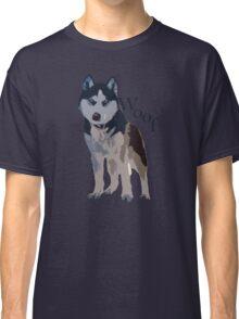 Woof - Siberian Husky Classic T-Shirt
