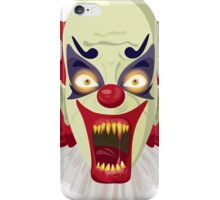 Scary clown iPhone Case/Skin