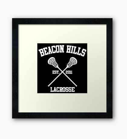 Beacon Hills Framed Print
