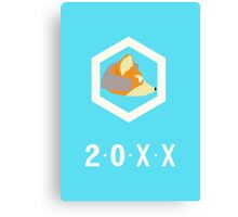 20XX Fox Canvas Print