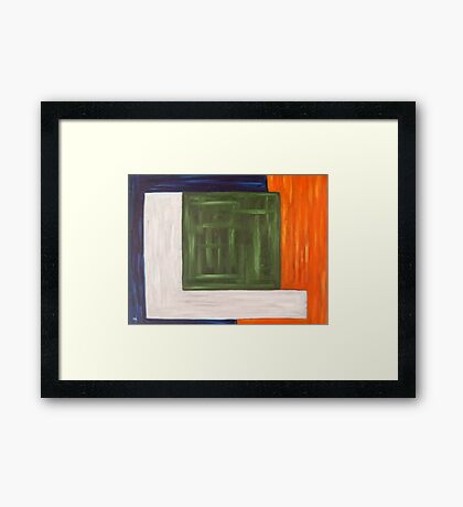 ABSTRACT 978 Framed Print