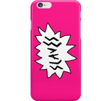 Slaves - Logo iPhone Case/Skin