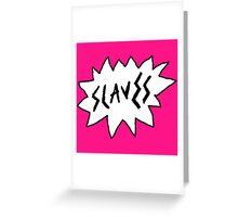 Slaves - Logo Greeting Card