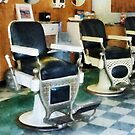 Corner Barber Shop by Susan Savad