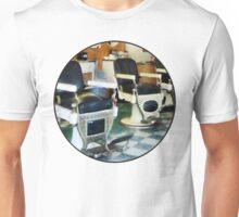Corner Barber Shop Unisex T-Shirt