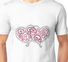 Two Hearts Become One Unisex T-Shirt