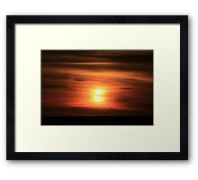Sunset #11 Framed Print