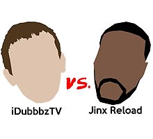 'iDubbbz VS. Jinx' decal by Frexk