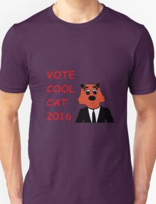 Cool Cat Fur President Merchandise T-Shirt