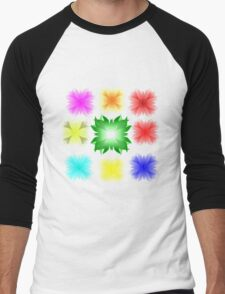 flower pinterest valentine Men's Baseball ¾ T-Shirt