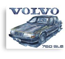 VOLVO 760 gle Canvas Print