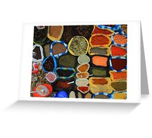 Colorful Spices Greeting Card
