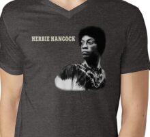 Herbie Hancock T-Shirt Mens V-Neck T-Shirt