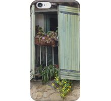 Window boxes iPhone Case/Skin