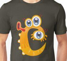 Cartoon monster letter C Unisex T-Shirt