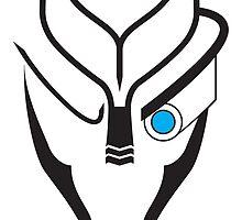 Mass Effect - Garrus (Black) by cassiarose