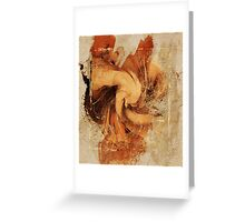 Firefly Urban Abstract Art Greeting Card