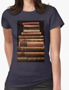 Rare antique books Womens Fitted T-Shirt