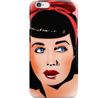 Betty Page  iPhone Case/Skin