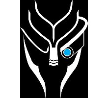 Mass Effect - Garrus (White) Photographic Print