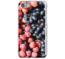 Purple and Red Grapes iPhone Case/Skin