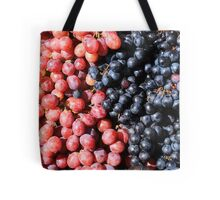 Purple and Red Grapes Tote Bag