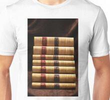 Stack of antique books Unisex T-Shirt