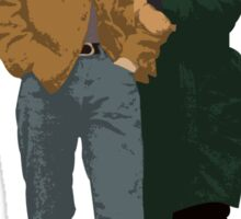 Minimalist Freewheelin' Bob Dylan Sticker