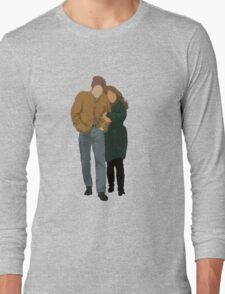 Minimalist Freewheelin' Bob Dylan Long Sleeve T-Shirt