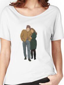 Minimalist Freewheelin' Bob Dylan Women's Relaxed Fit T-Shirt