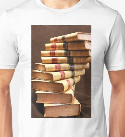 The beauty of books Unisex T-Shirt