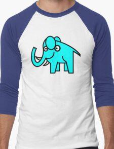 Artworksy Elephant Men's Baseball ¾ T-Shirt
