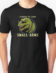 Licenced To Carry Small Army T-Shirt