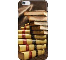 The beauty that is antique books iPhone Case/Skin