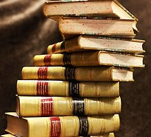 The beauty that is antique books by JacquiHall