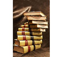 The beauty that is antique books Photographic Print
