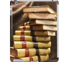 The beauty that is antique books iPad Case/Skin