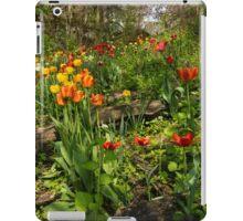 Untamed Tulip Garden - Enjoying the Beauty of Spring iPad Case/Skin